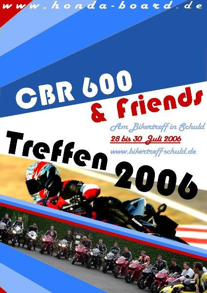 CBR 600 & Friends Treffen 2006